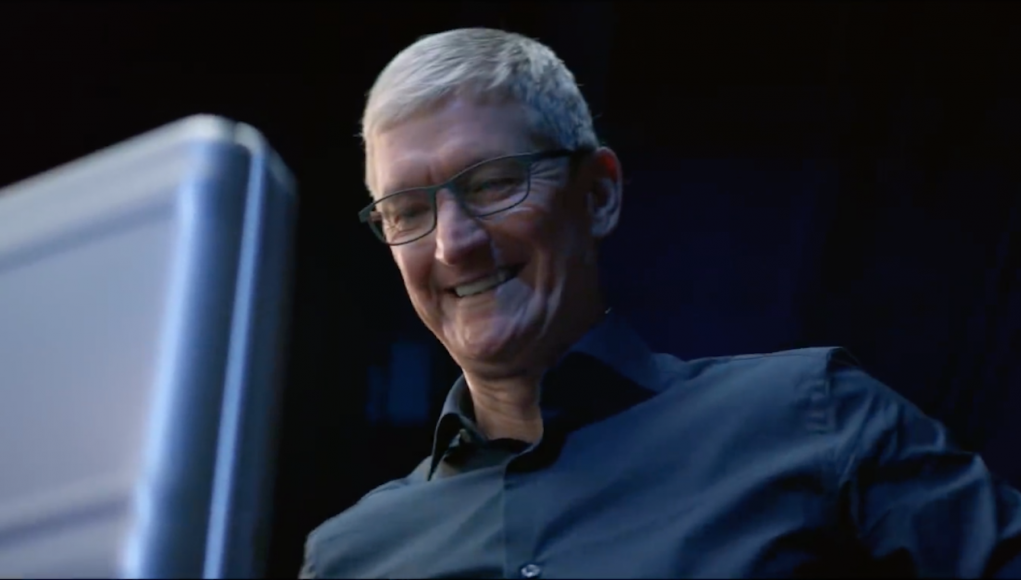 Tim Cook Vídeos evento Apple 2018