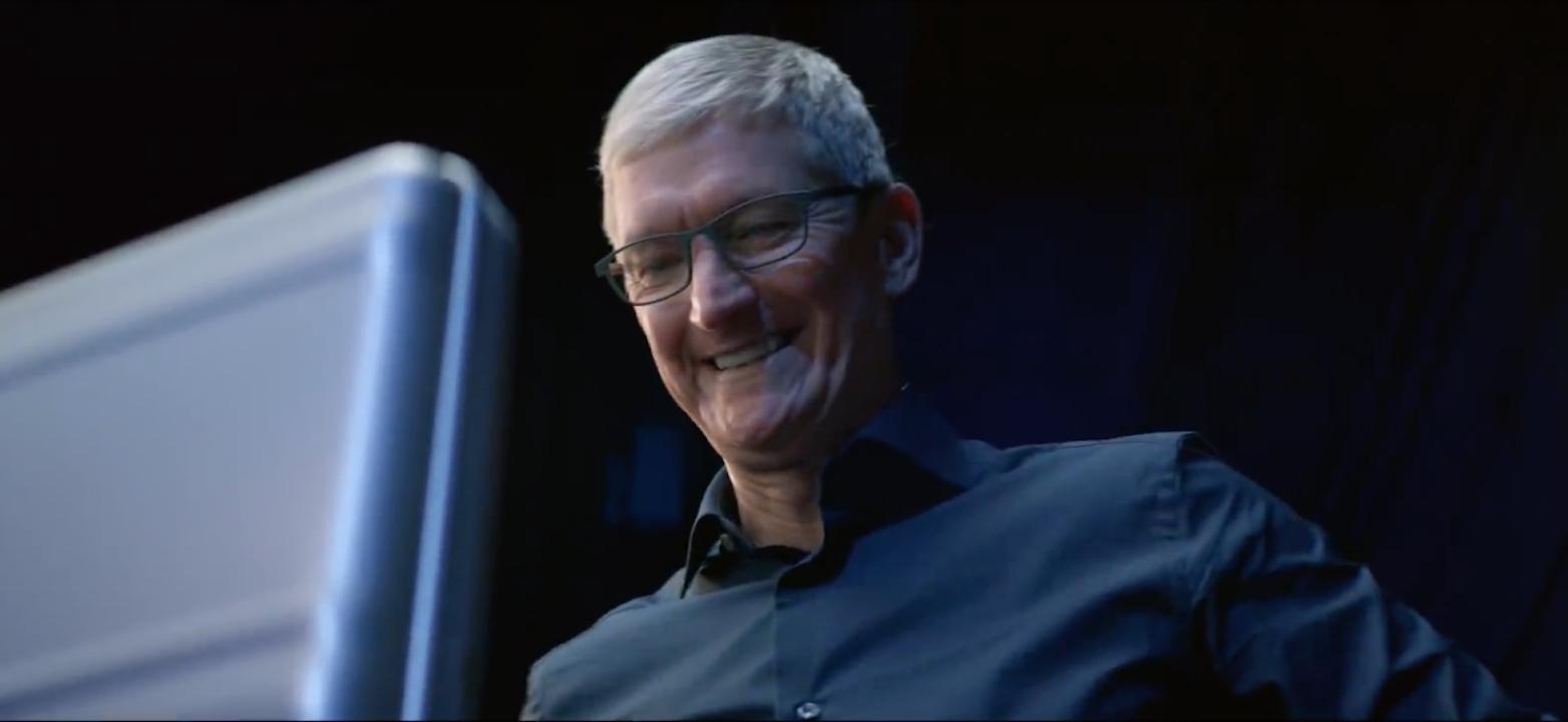Tim Cook Vídeos evento Apple 2018