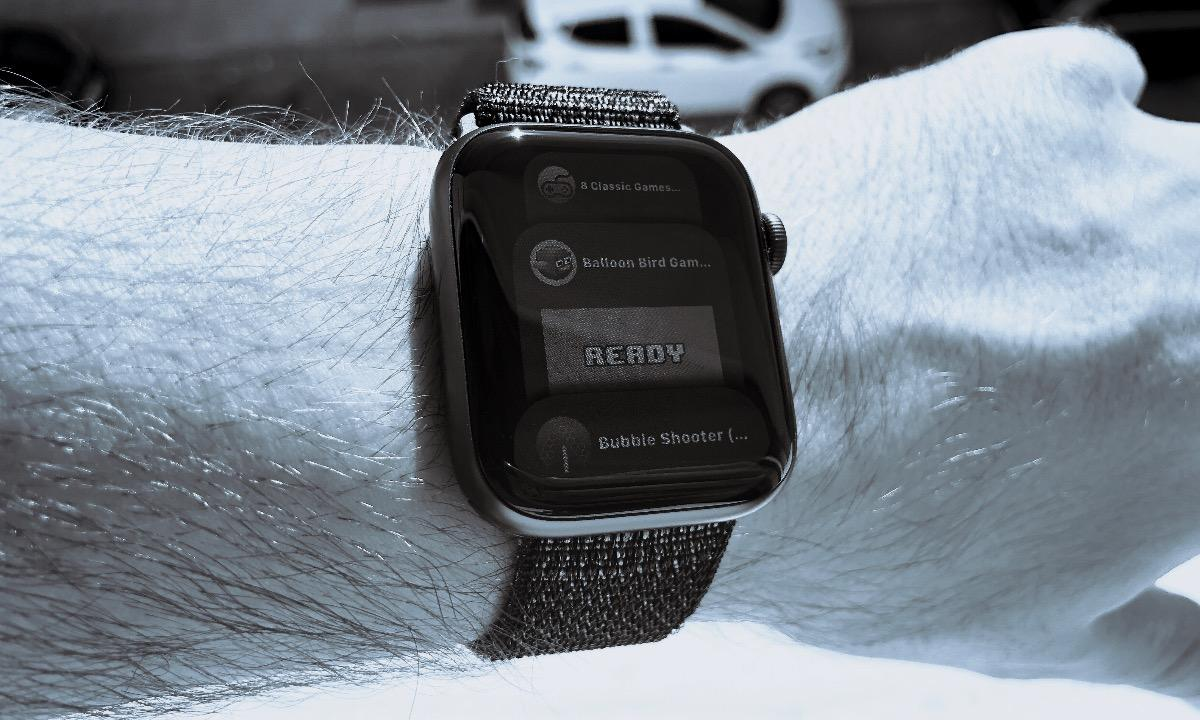 Apple Watch Series 4 juegos