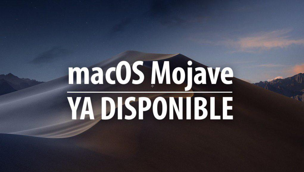 macos mojave ya disponible