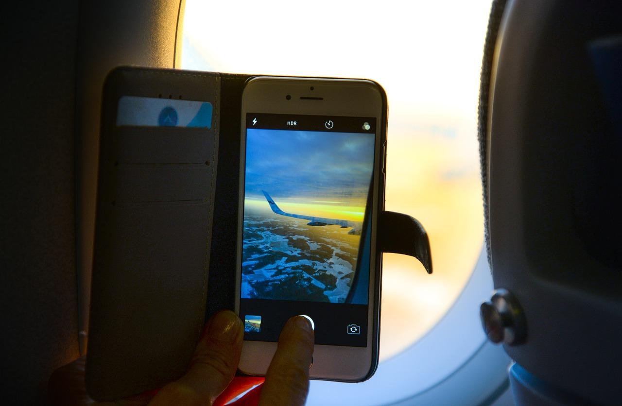iPhone Vuelo AirDrop
