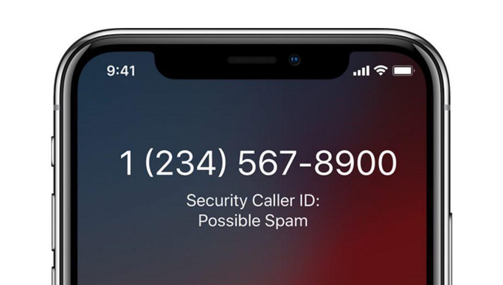 Spam telefónico Apple