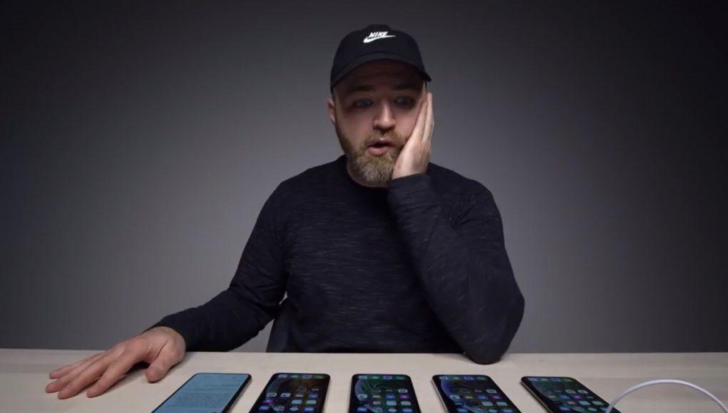 Unbox Therapy iPhone XS problema carga batería