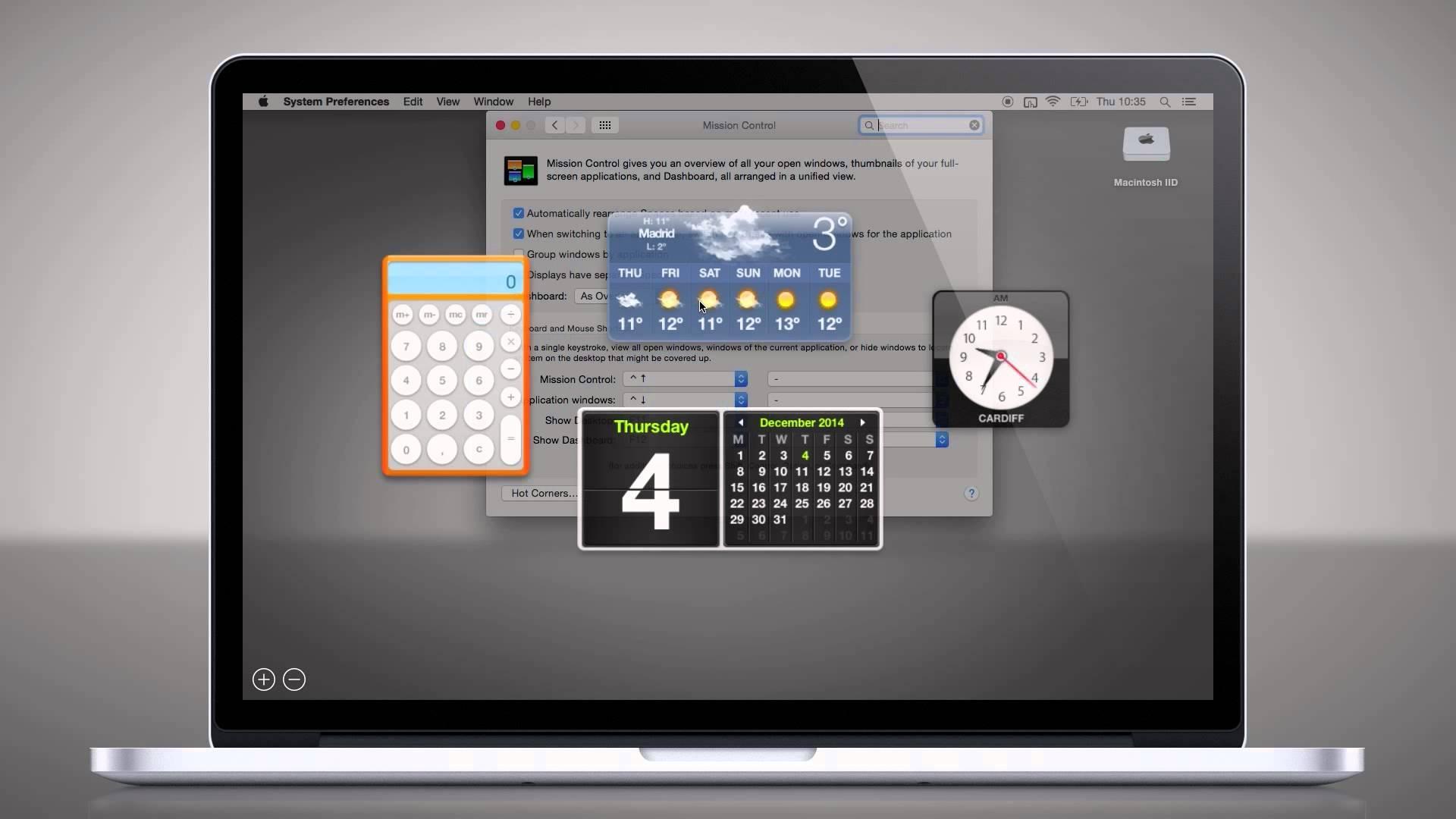Cómo activar el Dashboard en tu Mac con macOS Mojave