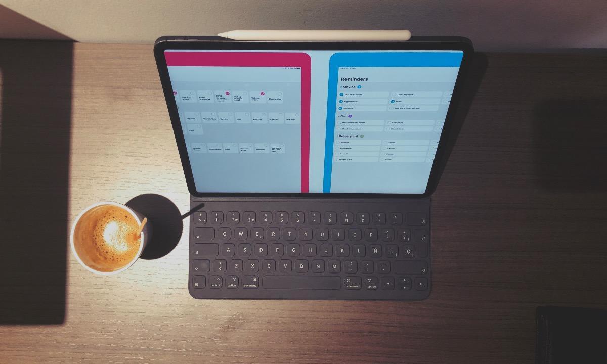 Reminder iOS iPad Ricky café