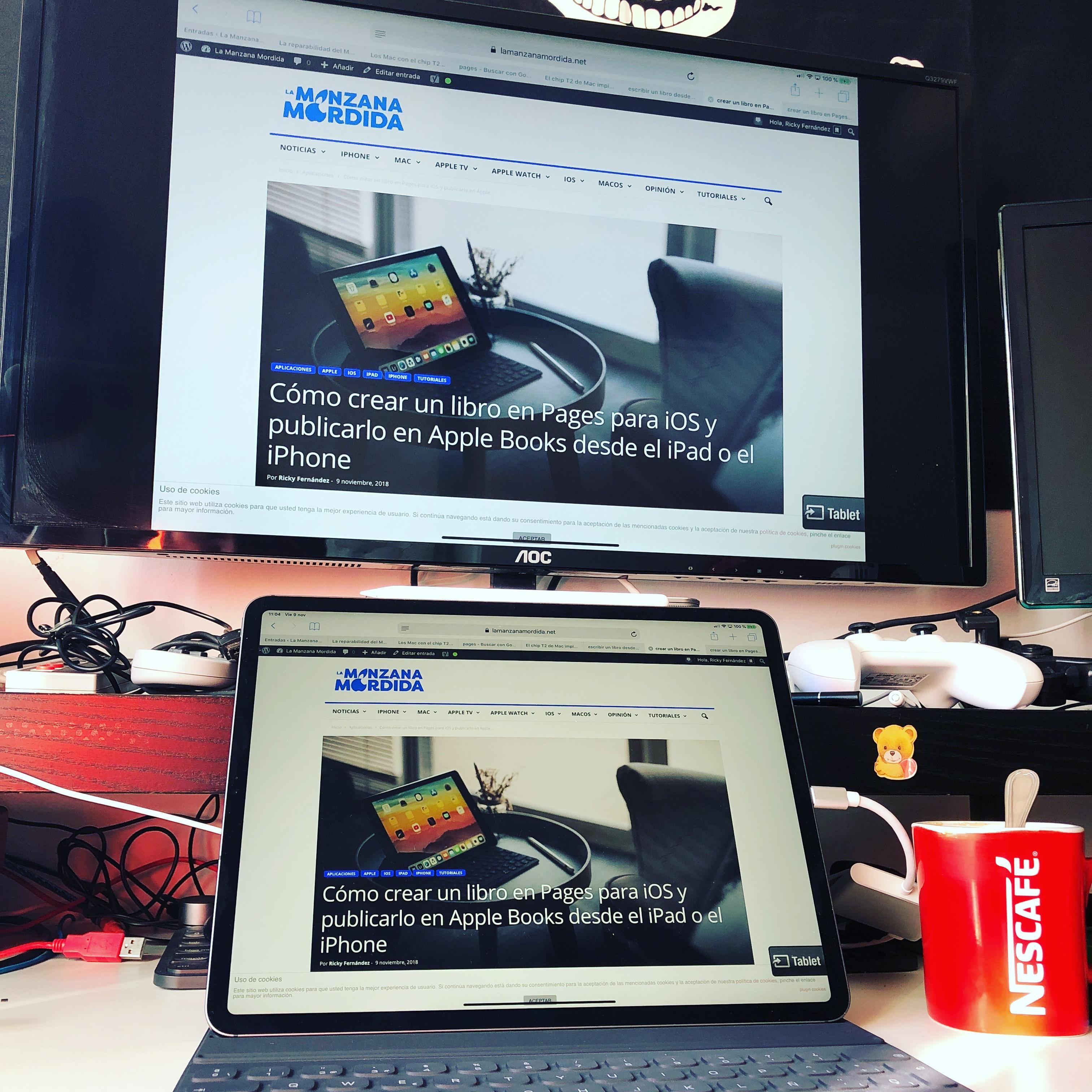 IPad Pro USB-C pantalla segunda pantalla