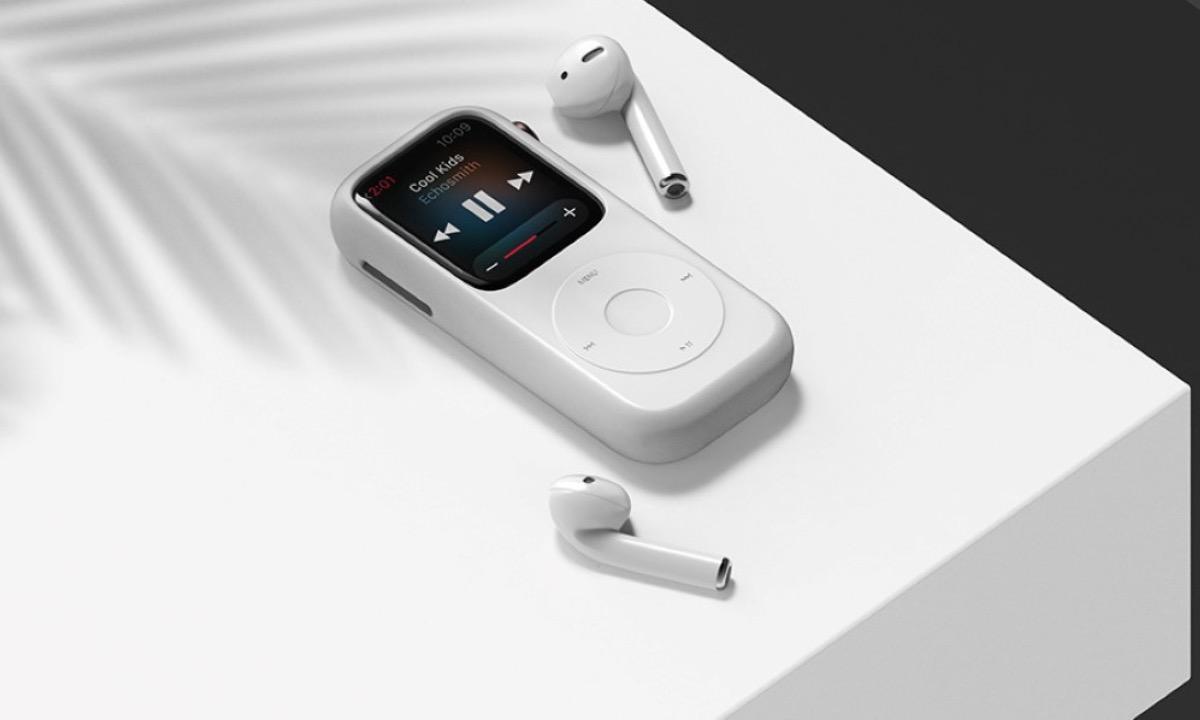 Funda carcasa Apple Watch iPod rediseñado