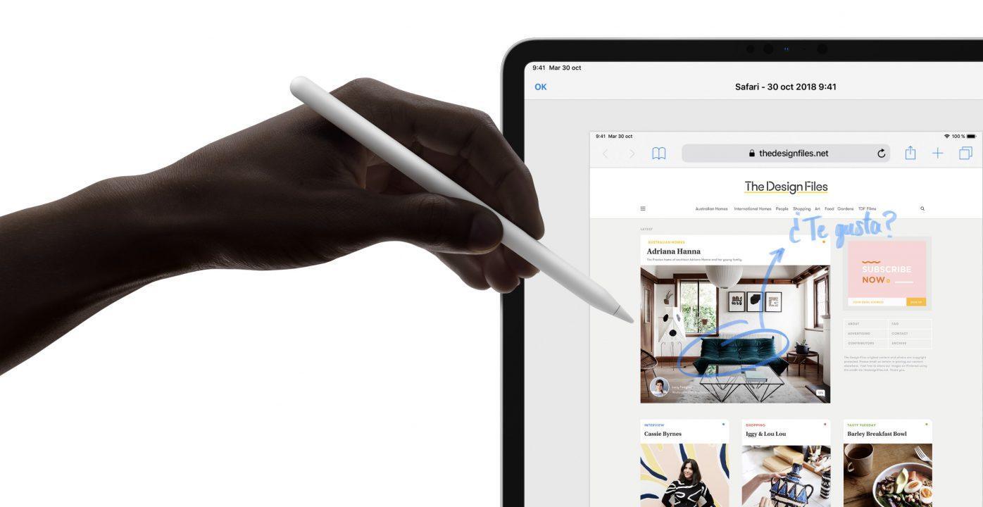Nuevo iPad Pro Apple Pencil 2