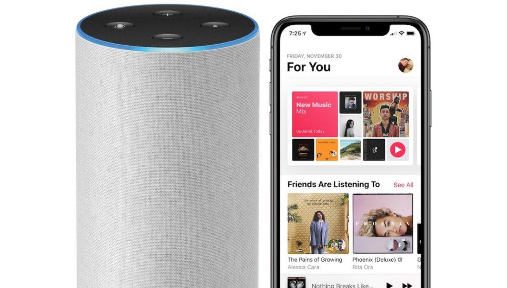 Apple Music en Amazon Echo