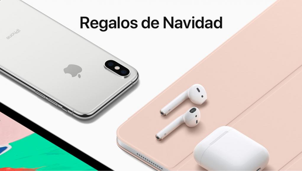 Regalos de navidad Apple