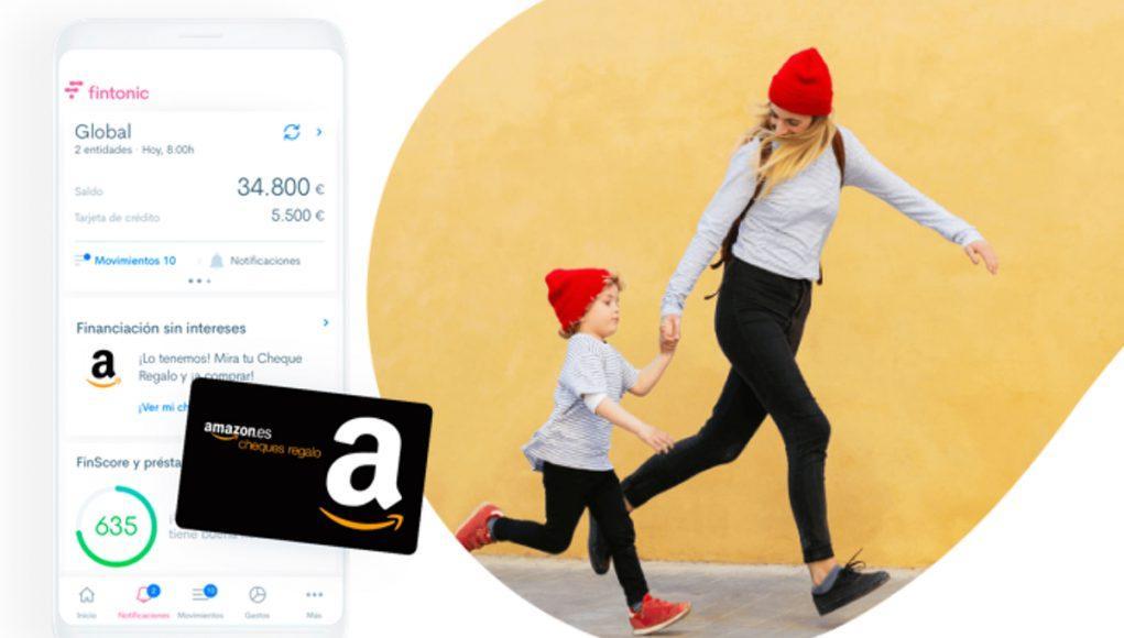 Fintonic Cheque Regalo Amazon