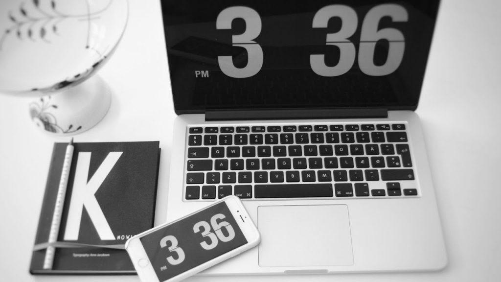 Fliqlo salvapantallas en Mac