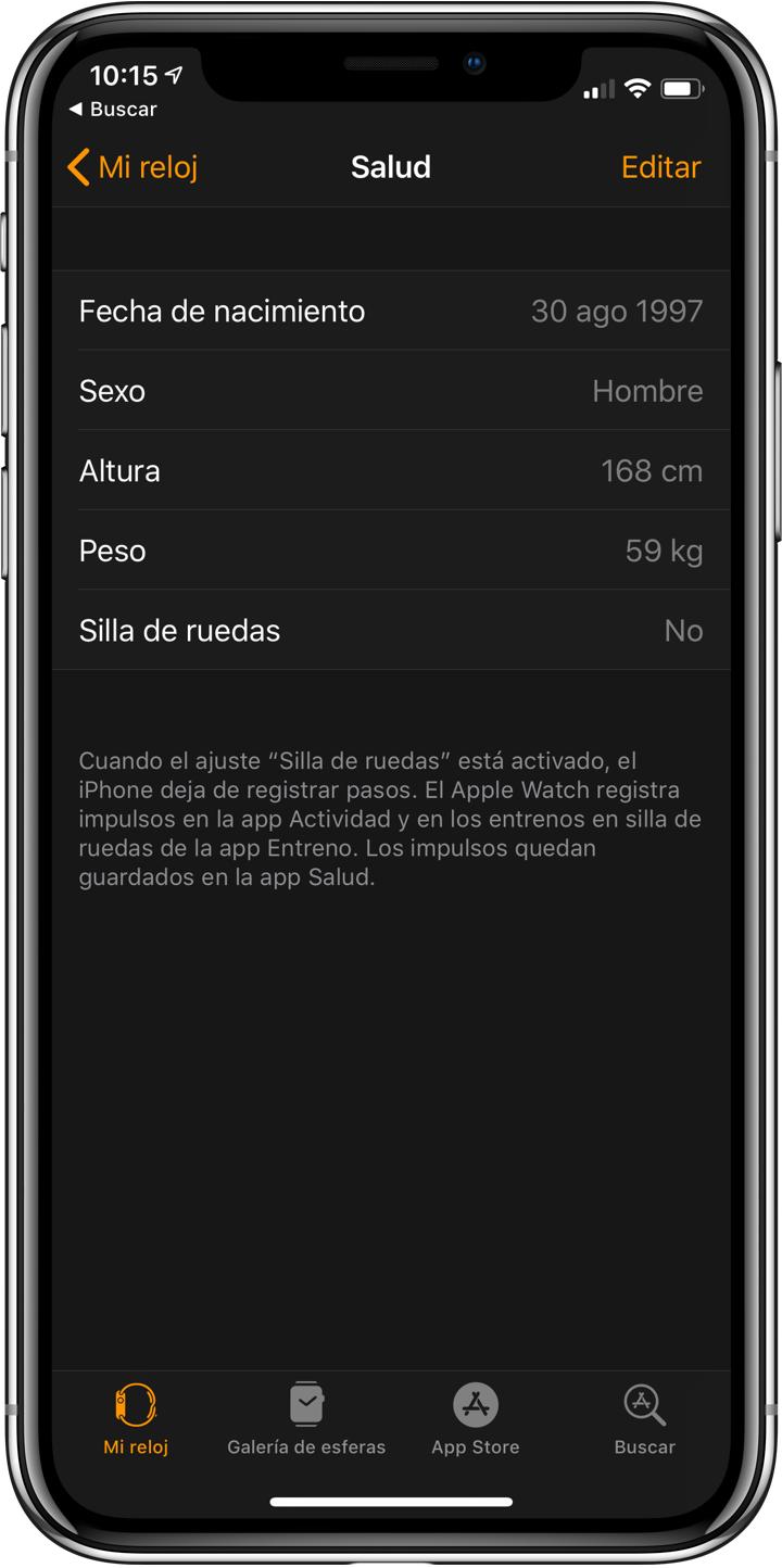 Cómo calibrar el Apple Watch Series 4