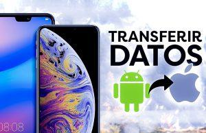 Transferir datos entre Android y iOS