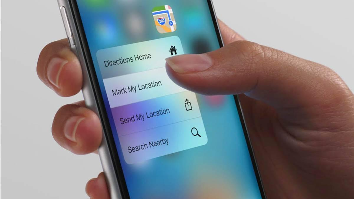 3D Touch para el iPhone XR
