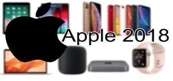 Este es el resumen de todo lo que ha lanzado Apple este 2018