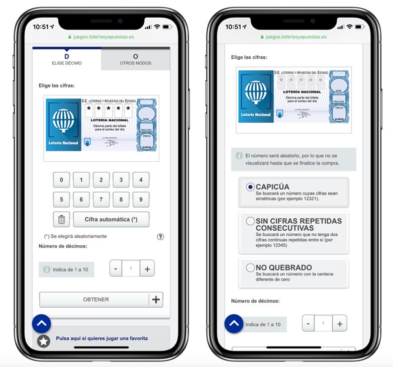 Cómo comprar loteria en iPhone