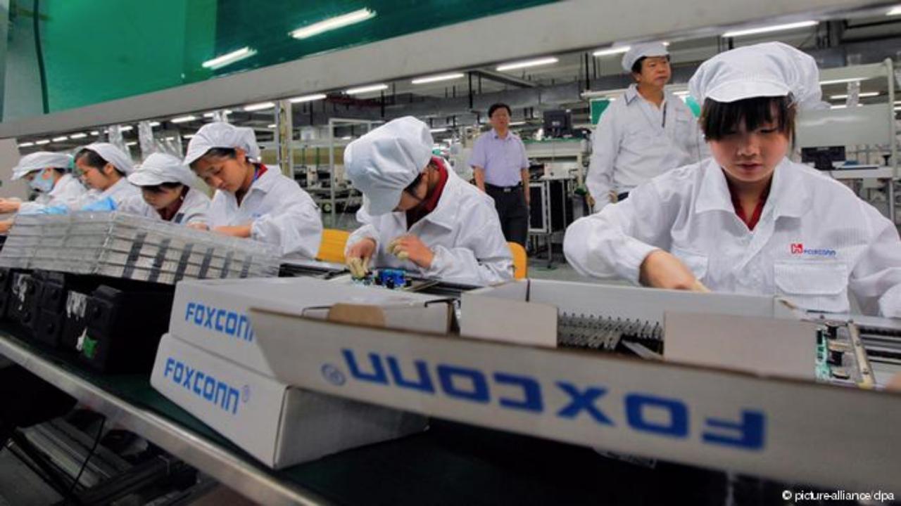 Fabricación del iPhone
