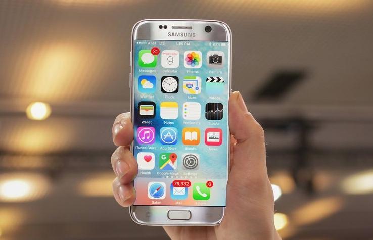 Prototipo de Samsung con iOS