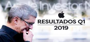 Apple presenta sus resultados económicos del Q1 2019 reportando una bajada en las ventas del iPhone