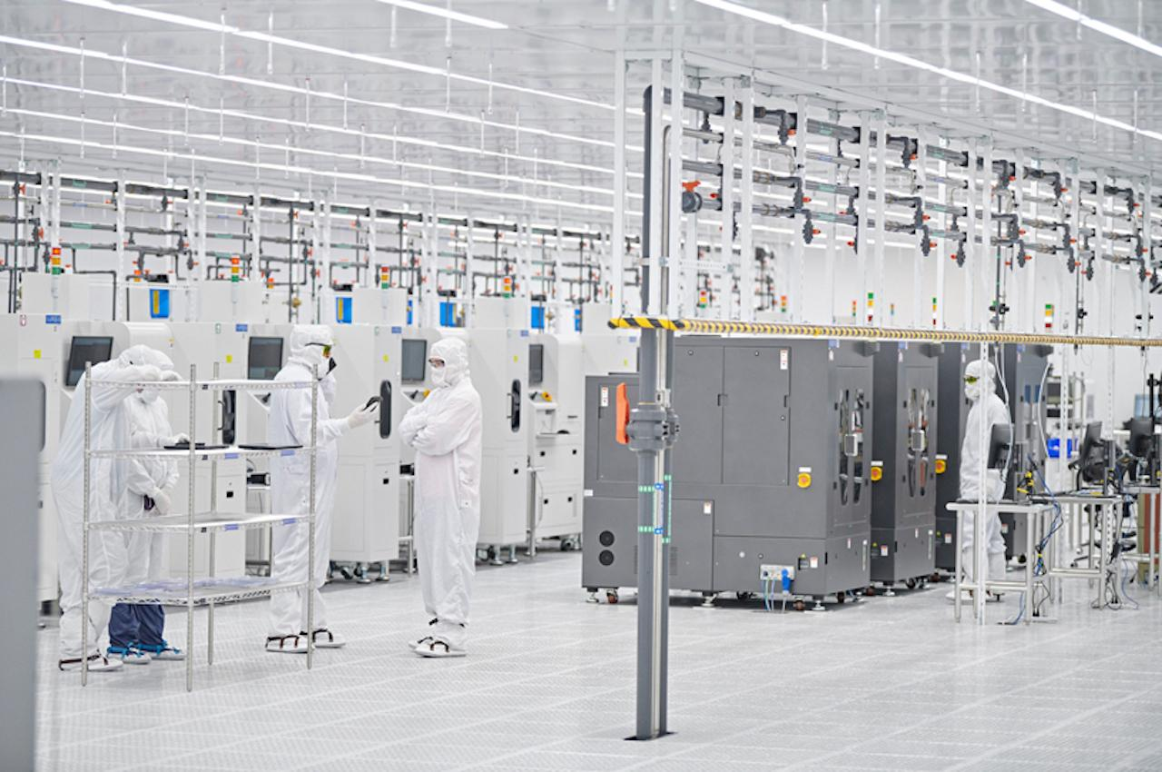 Apple fábrica