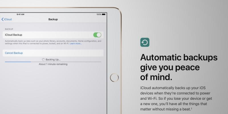 iOS 12 copia seguridad iPad