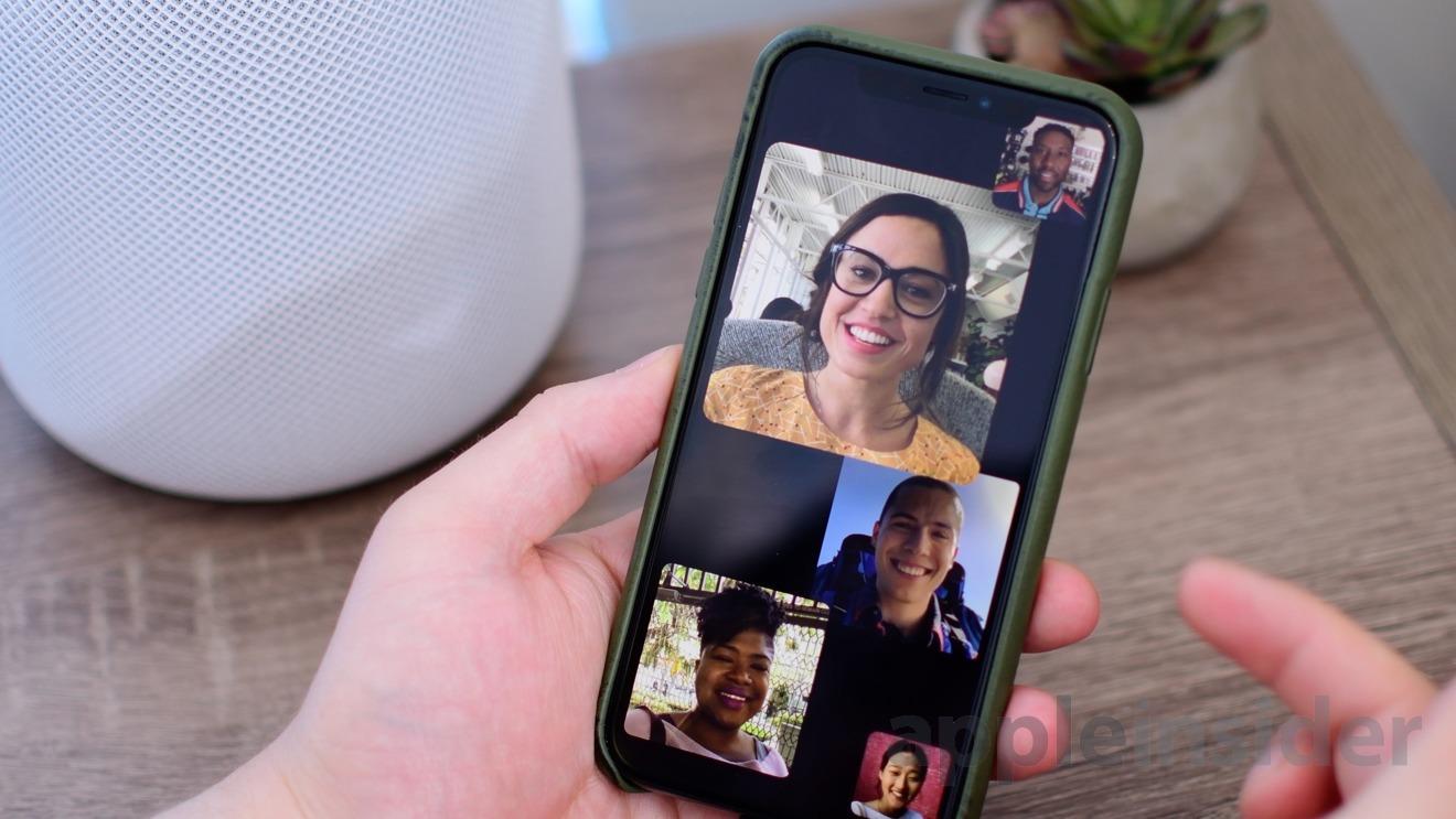 FaceTime iOS 12.1.4