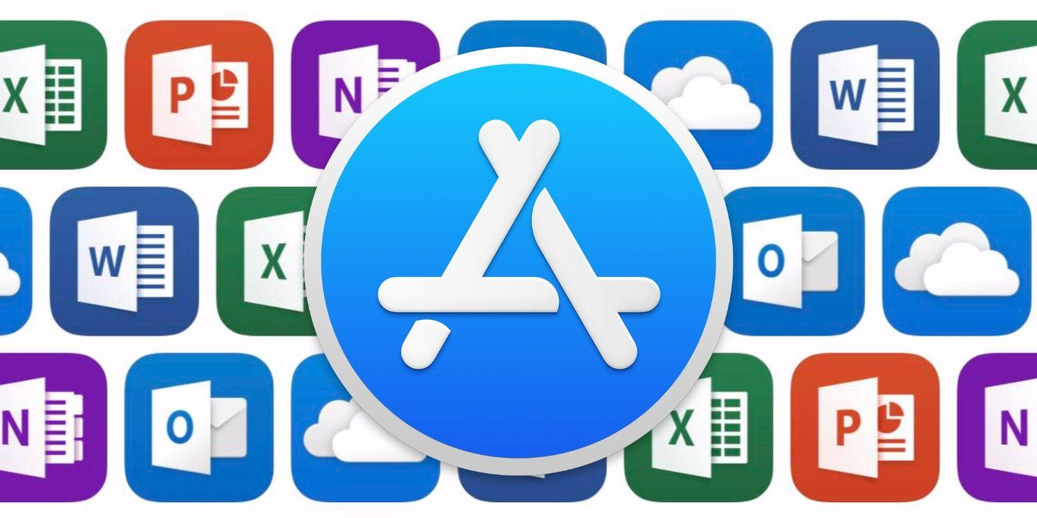 Microsoft Office disponible ya en la Mac App Store