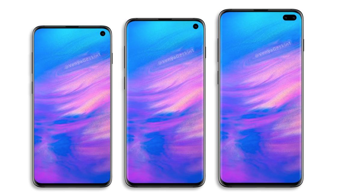 Posible diseño del Samsung Galaxy S10