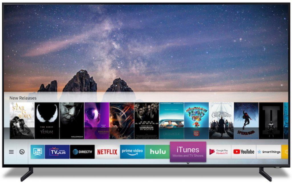 Samsung Smart TV contará con iTunes y AirPlay 2