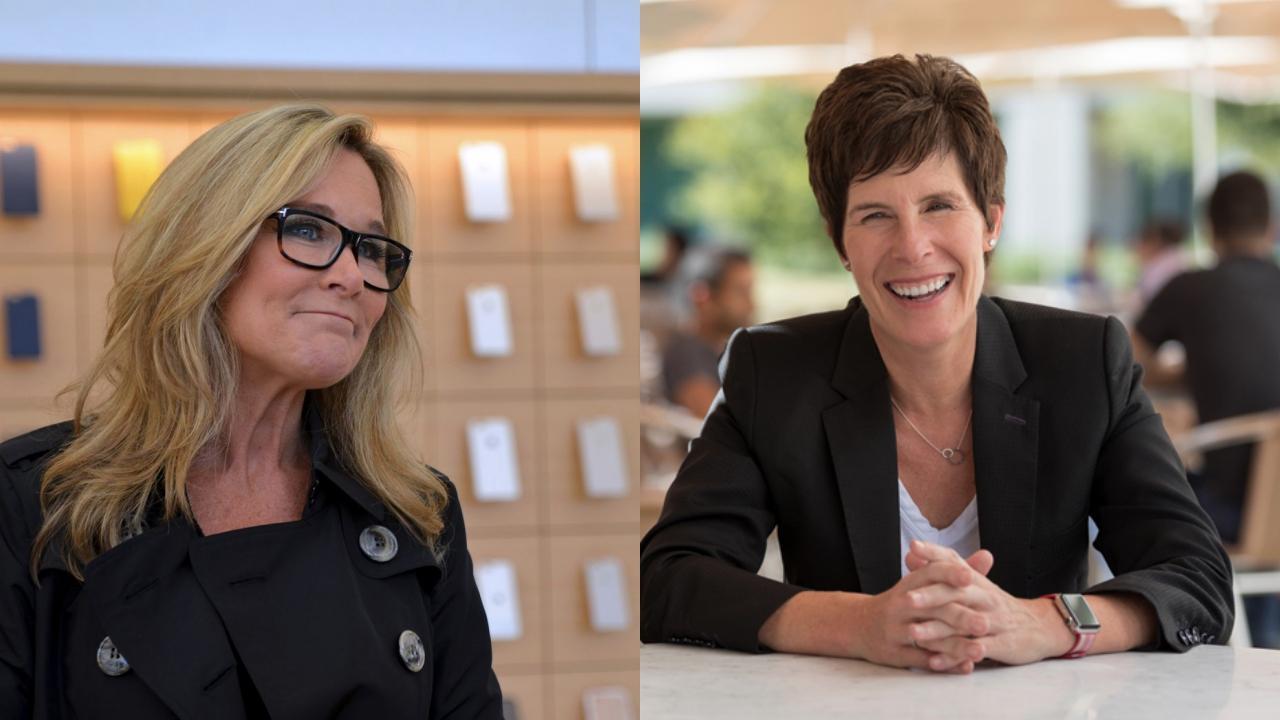 Apple - Angela Ahrendts y Deirdre O'Brien