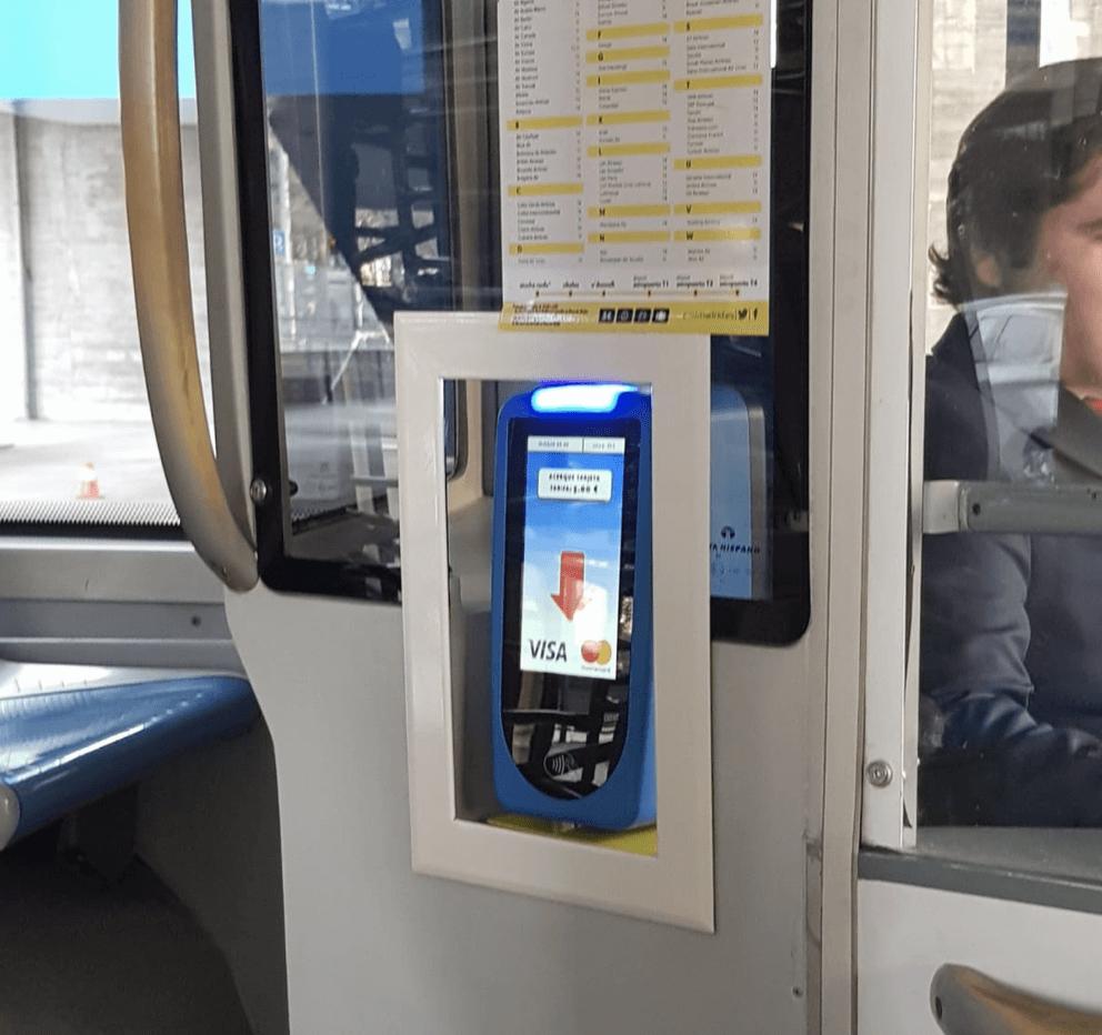 EMT Madrid Apple Pay