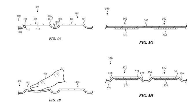 Patente teclado MacBook