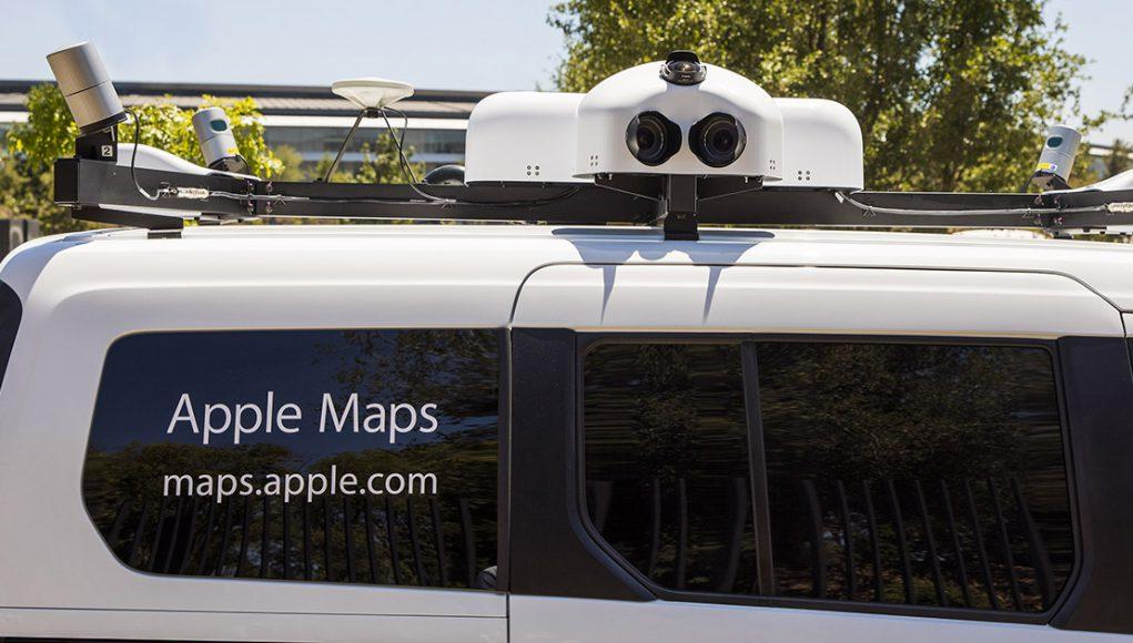 vehículos Apple Maps