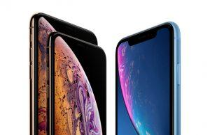 iPhone XS y XR