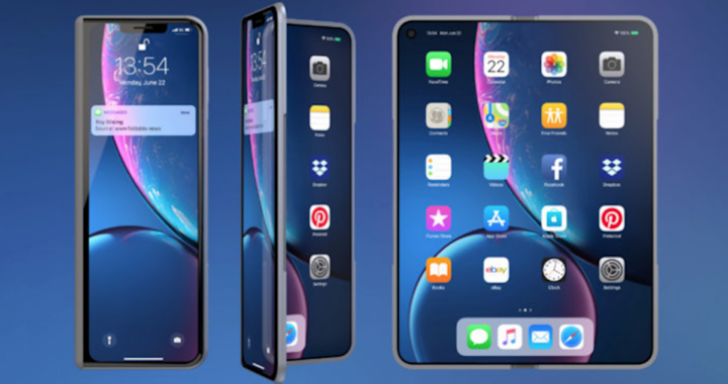 Possibility of Apple launching a foldable iPhone in 2021 or 2022