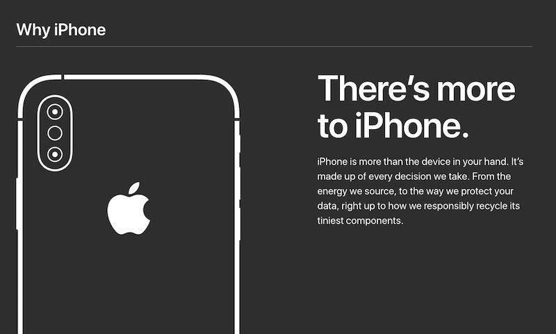 Camapaña por que un iPhone