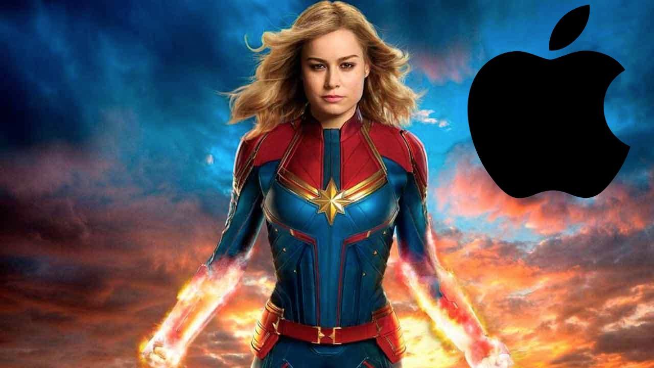 Capitana Marvel Brie Larson Apple