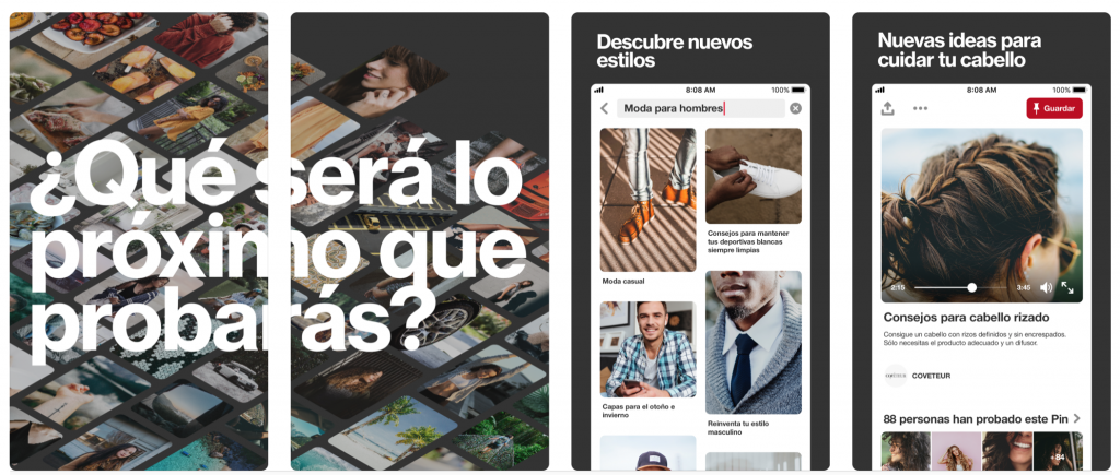 Pinterest fondos de pantalla para iPhone