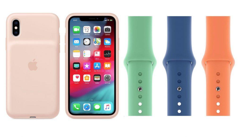 Nuevas fundas y correas Apple
