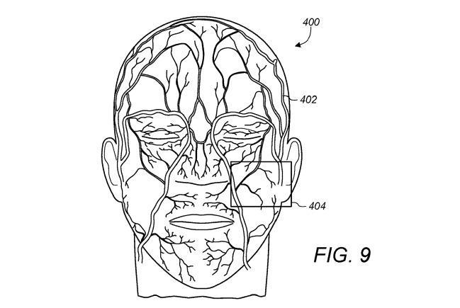 Patente Face ID venas