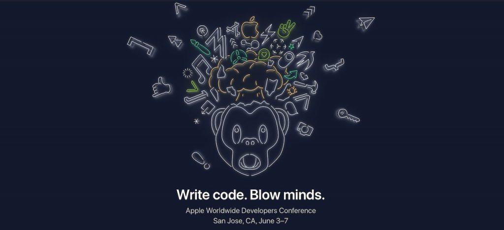 fondo de pantalla de la WWDC 2019