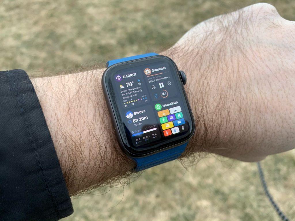 apps recientes concepto watchOS 6