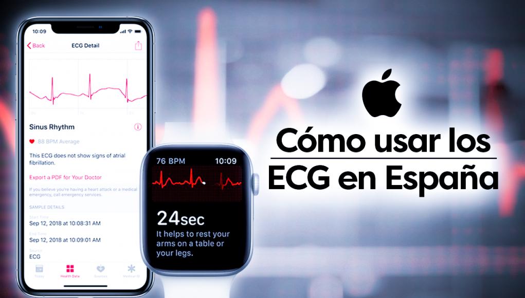 cómo usar los ECG del Apple Watch en España