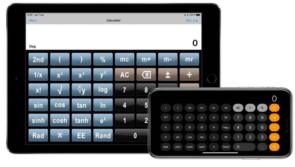 calculadora cientifica completa iphone ipad