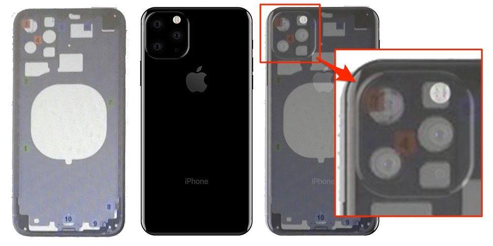 iPhone 11 supuesto esquema