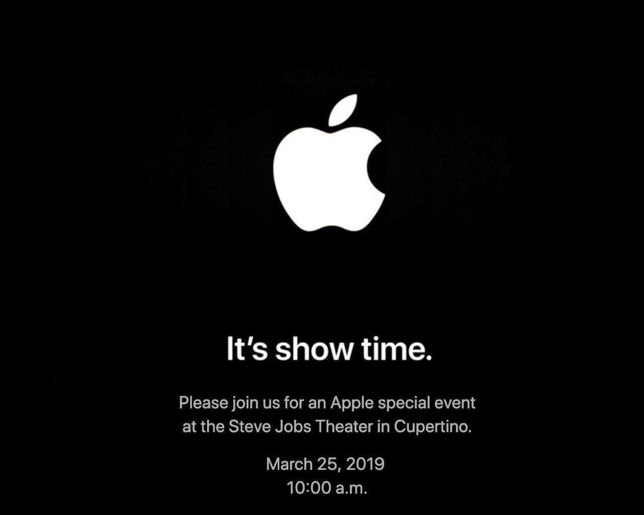 invitaciones evento 25 de marzo apple