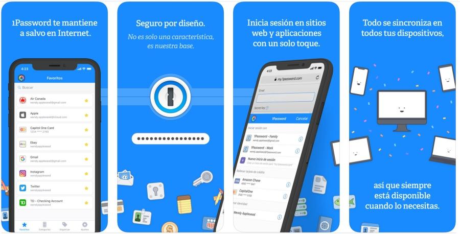 1Password apps de la semana iOS