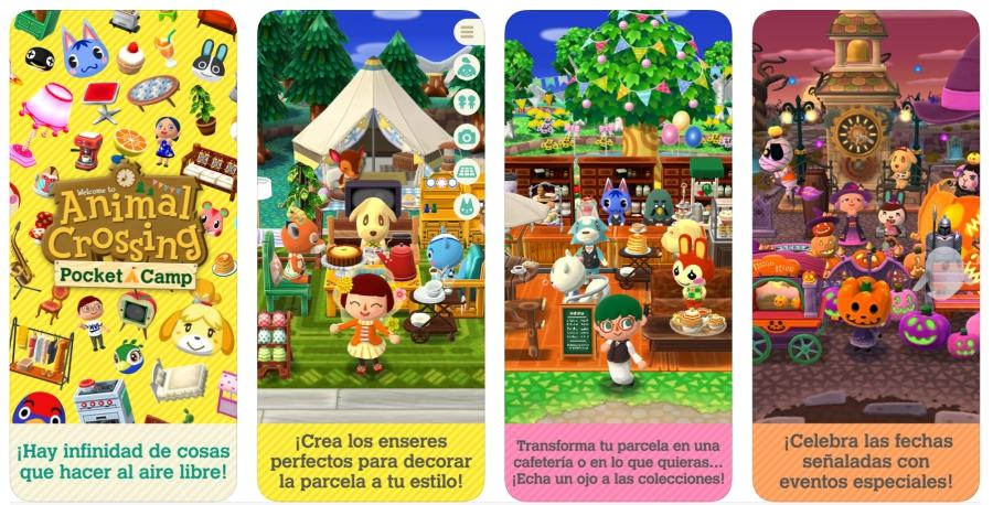Animal Crossing apps de la semana