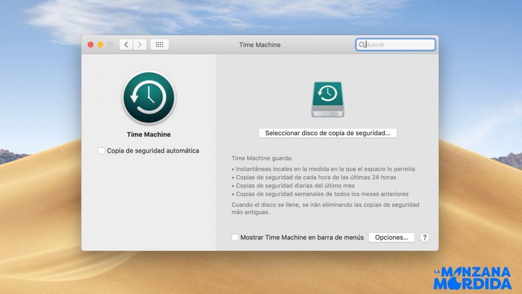 Backup macOS copia de seguridad macOS